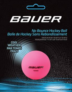 Bauer street hockey pallo cold pink -  - 680680997380 - 1