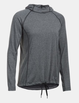 Under Armour naisten treenihuppari Threadborne Train Hood Twist - Naisten treenivaatteet - 1905100380 - 1