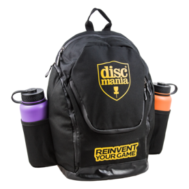 Discmania frisbeegolfreppu Fanatic Backpack musta - Frisbeegolf - 6430030378390 - 1