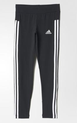 Adidas tyttöjen legginssit YG 3S Tight - Lasten housut - 40572882121 - 1 f1932fbcfb