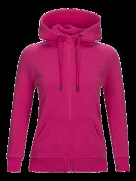 Peak Performance naisten hupparitakki Logo Zipped Hoodie pinkki - Naisten  takit ja puvut - 57131131411 - 835efba1c5