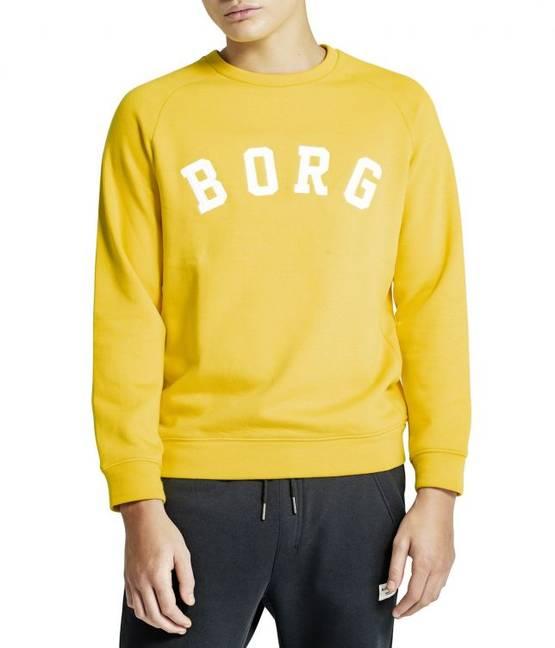 size 40 bc7cc 94845 Björn Borg miesten college Crew keltainen - Miesten paidat ja hupparit -  73214646321 - 1