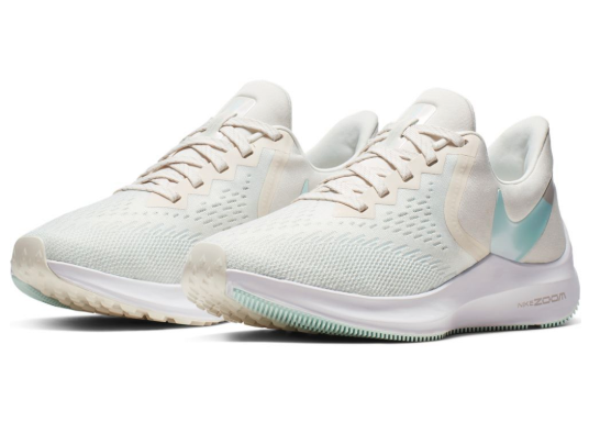 Nike juoksukengät Air Zoom Winflo 6 minttu Urheilujakone