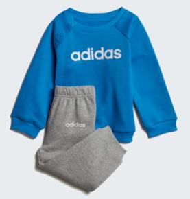 timeless design 5bb09 99831 Adidas lasten collegepuku Linear sininen - Lasten takit ja puvut -  40605153274 - 1