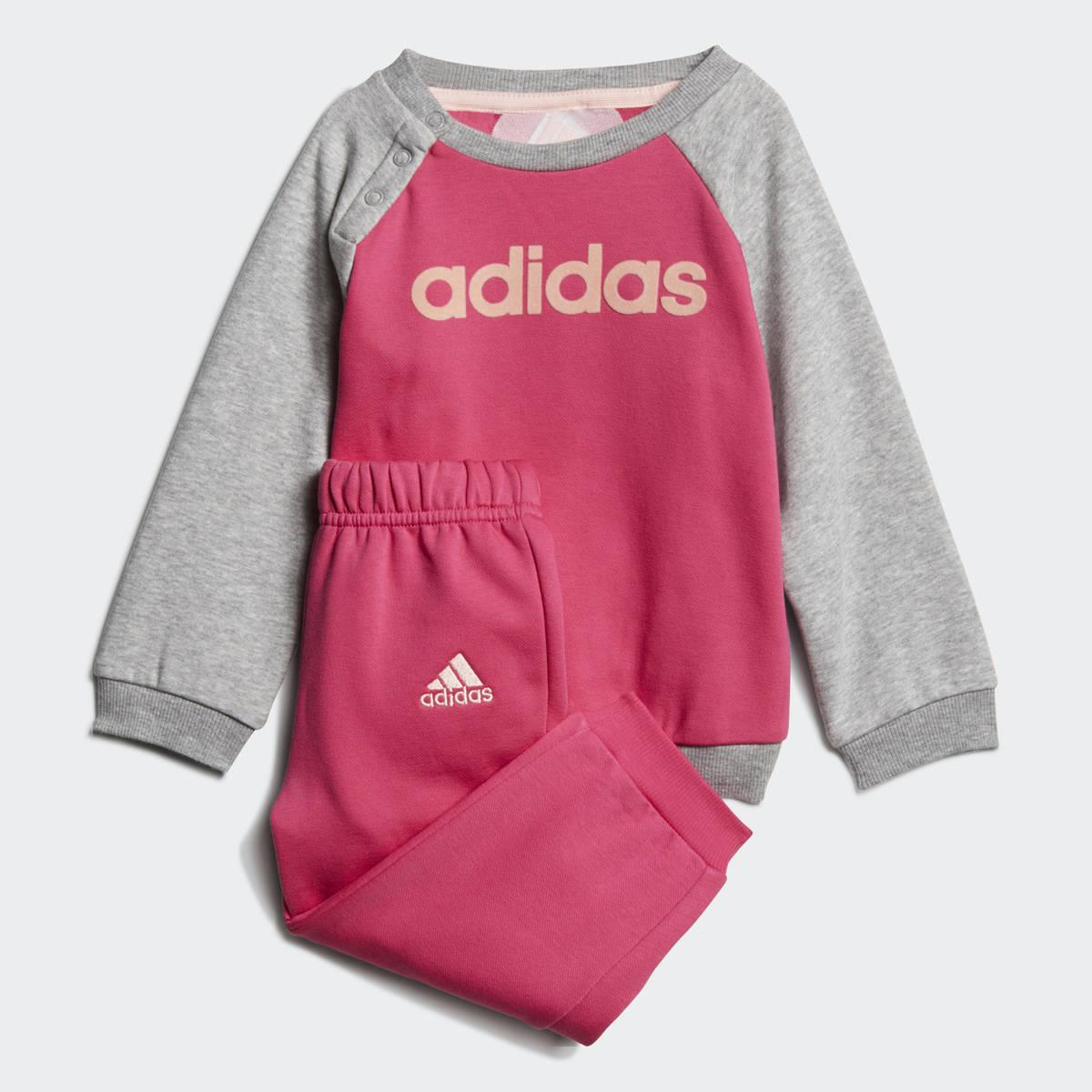 Adidas lasten collegepuku Linear punaharmaa - Urheilujakone.fi ... b6e60ade9b