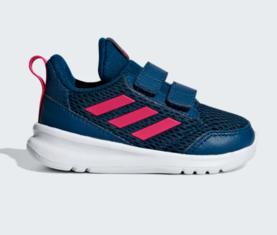 Adidas lasten juoksu  vapaa-ajan kengät Altarun CF I navy - Lasten  juoksukengät - cc412c50a4