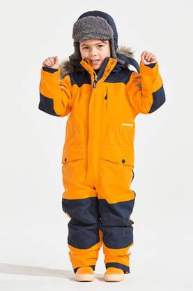 Didriksons lasten talvihaalari Björnen kirkas oranssi - Lasten takit ja  puvut - 73326276807 - 1 ecdf8bc428