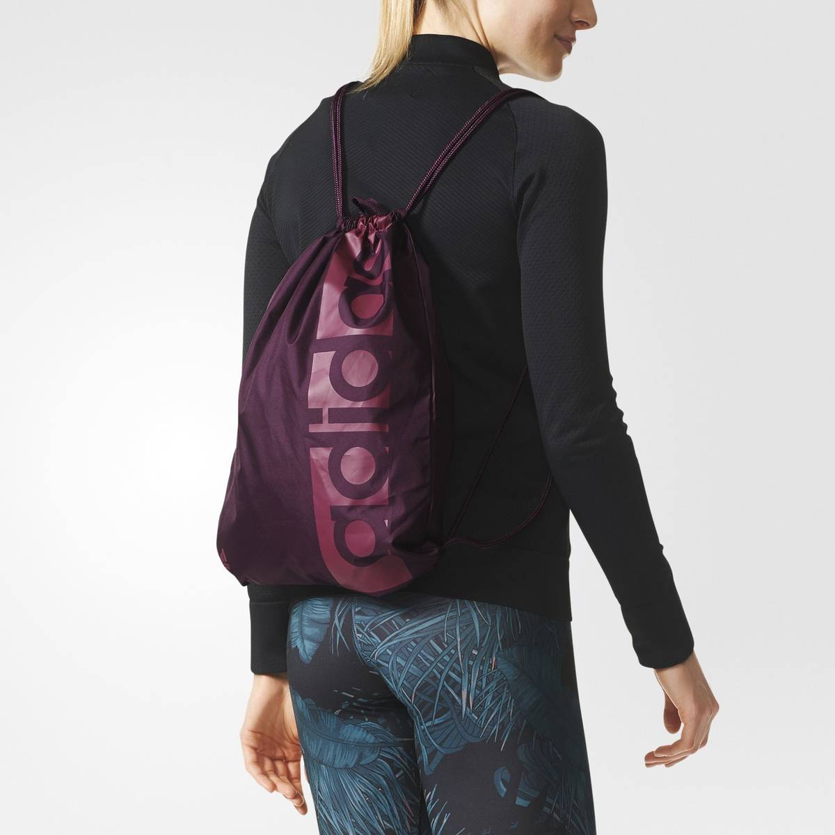 Pieni Adidas Laukku : Adidas laukku linear per gym bag luumu urheilujakone fi