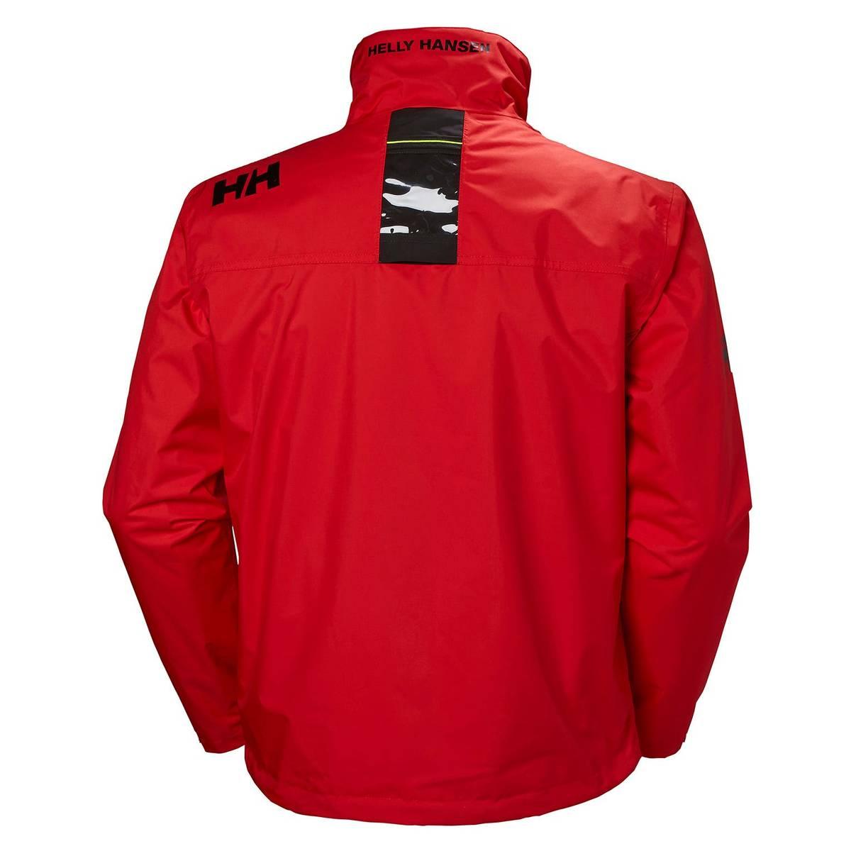 Yhdysvallat aito super erikoisuuksia Helly Hansen miesten takki Crew Midlayer punainen