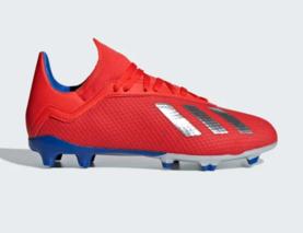 finest selection ca7f1 d40c8 Adidas jalkapallokengät X 18.3 FG Junior punainen - Jalkapallokengät -  40605093199 - 1